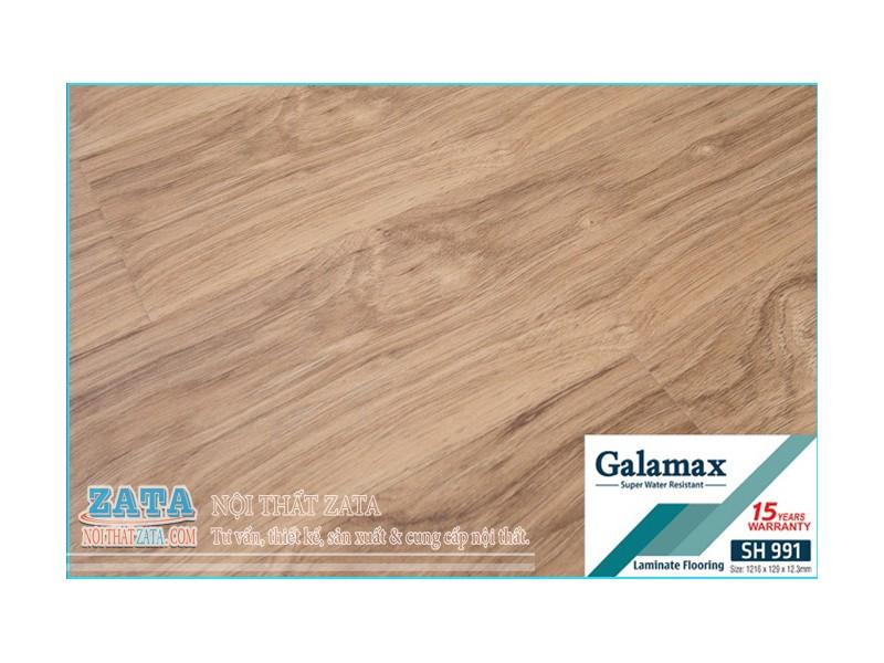 SÀN GỖ GALAMAX 12ly - SH991