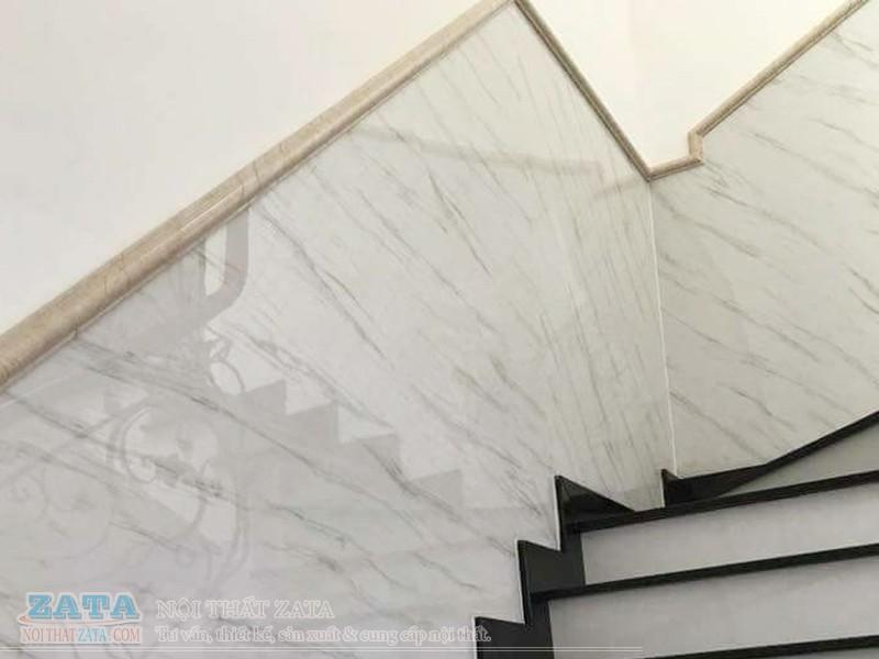 Ốp vách lối đi cầu thang